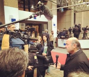 Eurogrupo, Bruselas 11 de febrero 2016